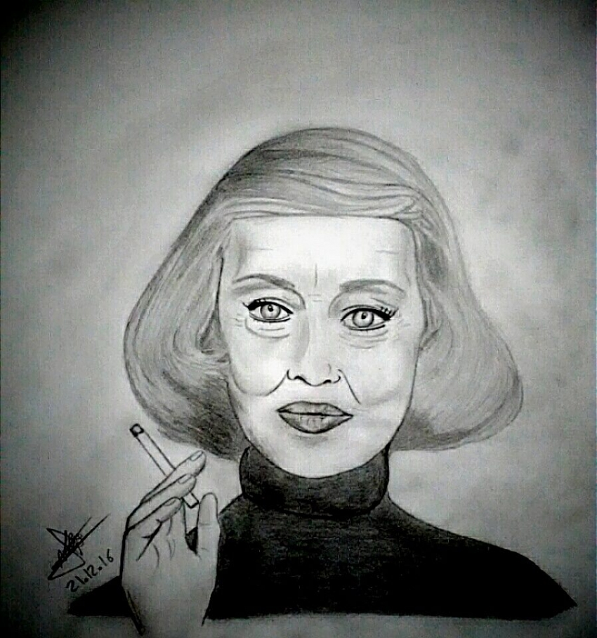Bette Davis by aline17